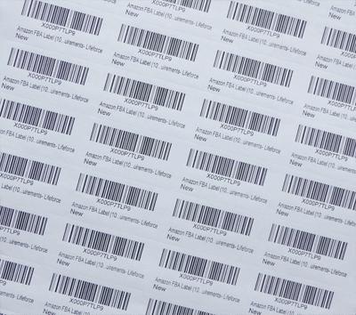 Having trouble printing FBA labels through Amazon seller