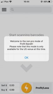 Image: Amazon scouting app