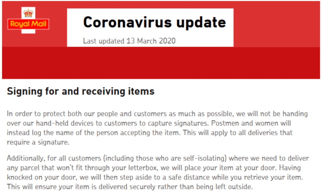 Image: Corona Virus Update