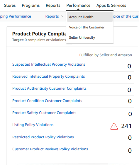 Image: Product Policy Compliance