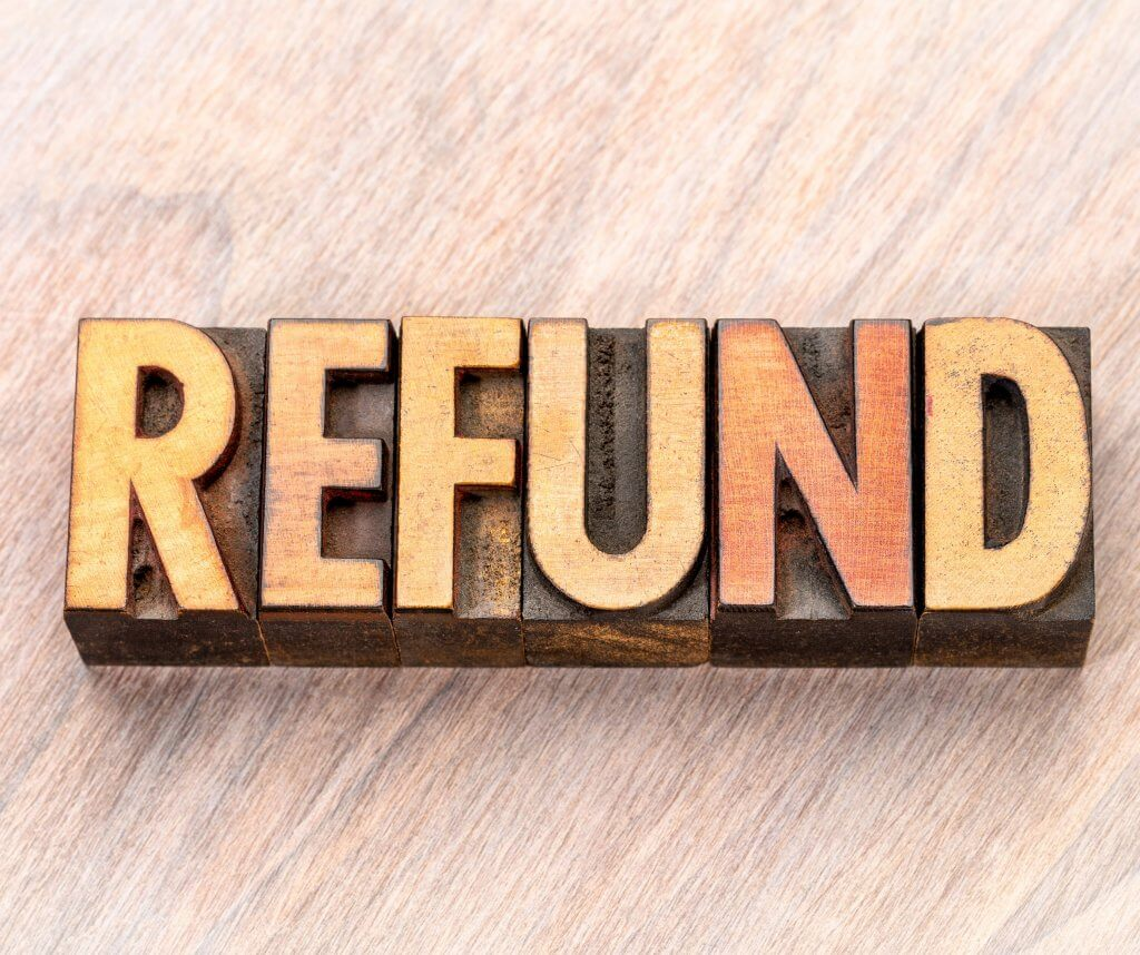 Image: refund without return
