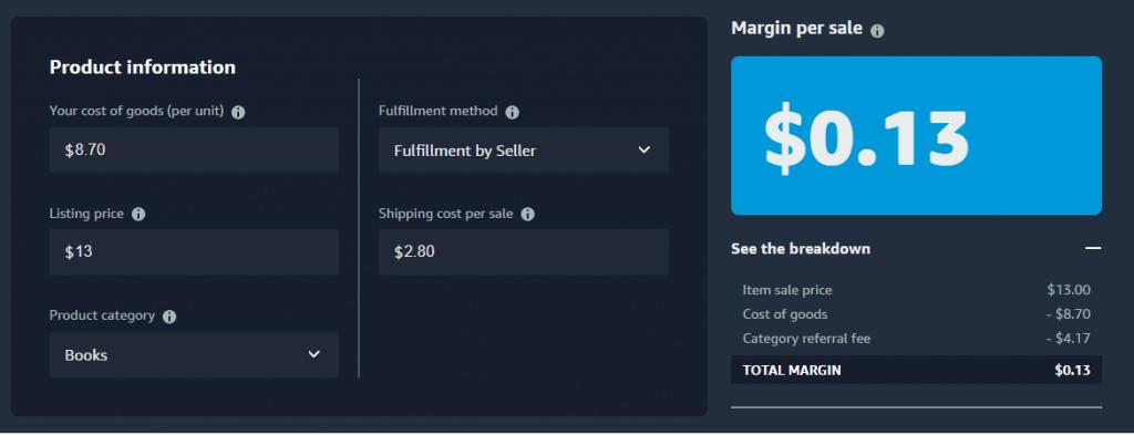 Image: FBM Cost