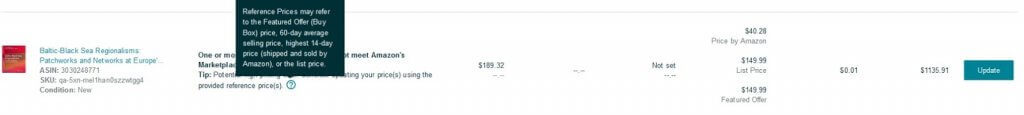 Image: Reference Price Definition