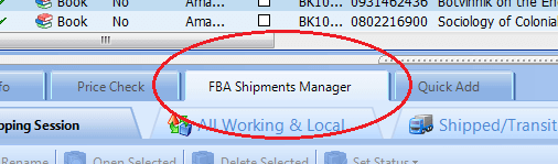 FBA Shipments Manager