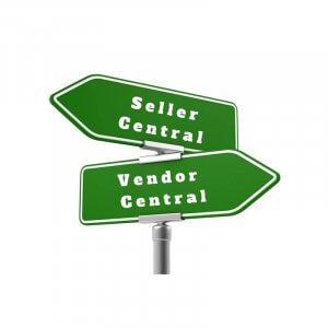 Vendor Central Sign