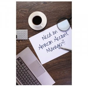 Need an Amazon Account Manager-