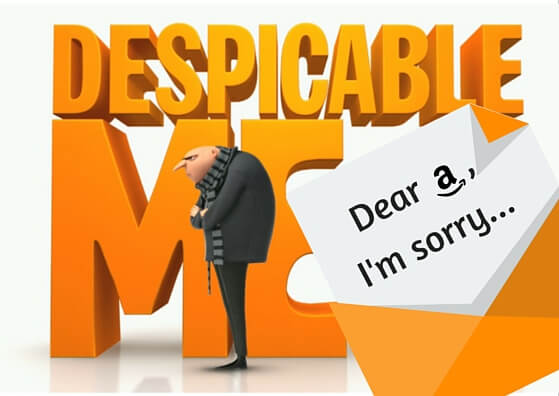 despicable me amazon appeal letter