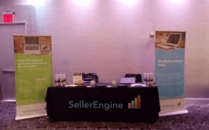 SellerEngine booth Amazon sellers meetup
