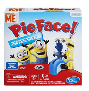 Pie Face toy
