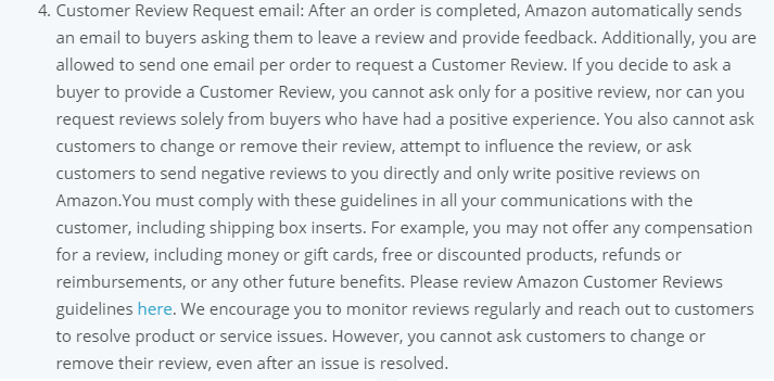 Review update