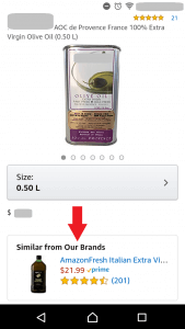 Similar from our brands amazon