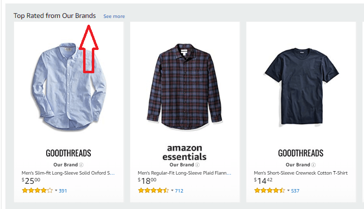 Top Rated from Our Brands