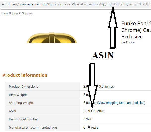 Example of ASIN on Amazon Drive