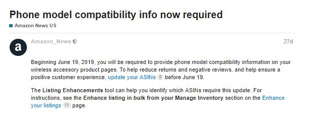 Phone model compatibility